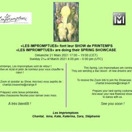 les impromptues spring showcase